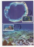 Taiwan R.O.CHINA -Maximum Card.- Dongsha Atoll National Park (4 Pcs.) - 1945-... Republic Of China