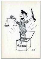 SINE  Dessin 1961 - Mon Procès Georges ARNAUD - POLITIQUE - DE GAULLE (guerre Algérie) - JUSTICE  MILITAIRE - Sine