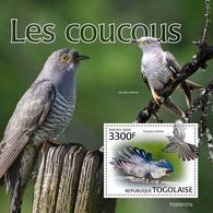 Togo. 2020 Cuckoos. (0121b)  OFFICIAL ISSUE - Cuckoos & Turacos
