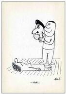 Illustrateur SINE - Dessin Antimilitariste - Caricature Militaire & Politique - LE MASQUE - Ext De Dessins De L'Express - Sine