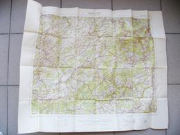 Carte Originale ARMÉE BRITANNIQUE WAR OFFICE Couleurs MARCHE Belgique Ardennes ROCHEFORT CINEY SAINT HUBERT LAROCHE - 1914-18