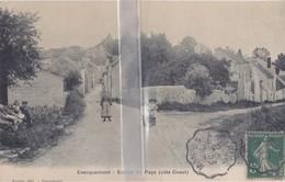 CPA  EVECQUEMONT  ENTREE DU PAYS CÔTE OUEST - France
