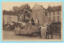 1702 - BELGIE - BOOM - MARIA OMMEGANG - PRAALWAGEN DE GEBOORTE VAN CHRISTUS - COSTUMES - MODE - VINTAGE - Boom