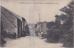 CPA  LEUGNY  COMMUNE DE LA ROCHE VANNEAU PAR POUILLENAY - France