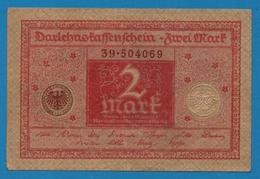 DEUTSCHES REICH 2 Mark01.03.1920# 39.504069 P# 59 - [ 3] 1918-1933 : República De Weimar