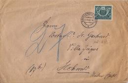 Gd Lettre De Sarreguemines Obl Saargemünd 2c (T327) Le 3/11/44 (dernière Date Connue) Sur TP N°815 Pour Hohwald - Elzas-Lotharingen