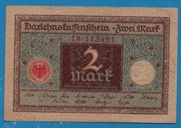 DEUTSCHES REICH 2 Mark01.03.1920# 18.113491 P# 60 - [ 3] 1918-1933 : República De Weimar