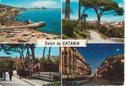 CATANIA - VEDUTINE MULTIVUES - NON VIAGGIATA - Catania