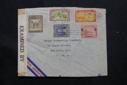 GUATEMALA - Enveloppe Commerciale Pour Les U.S.A. En 1942 Avec Contrôle Postal , Affranchissement Plaisant - L 58150 - Guatemala