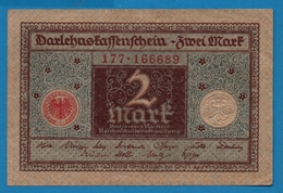 DEUTSCHES REICH 2 Mark01.03.1920# 177.166689 P# 60 - [ 3] 1918-1933 : República De Weimar