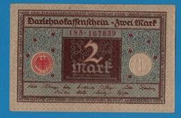 DEUTSCHES REICH 2 Mark01.03.1920# 185.167839 P# 60 - [ 3] 1918-1933 : República De Weimar