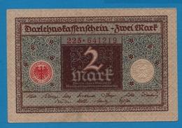 DEUTSCHES REICH 2 Mark01.03.1920# 185.167839 P# 60 - [ 3] 1918-1933 : Weimar Republic