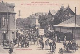 Tarbes - Sortie De L'Arsenal Rue Massey - Les Cyclistes - Non Circulée- - Tarbes