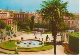 CATANIA - GIARDINO BELLINI - ANIMATA CON FONTANA - NON VIAGGIATA - Catania