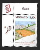 Monaco 2020 - Yv N° 3231 ** - Rolex Monte-Carlo Master - Monaco
