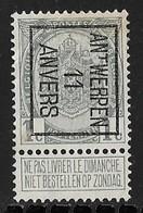 Antwerpen 1911 Typo Nr. 16B - Precancels