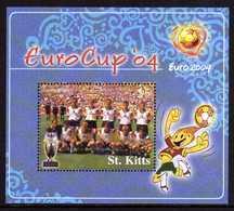 Saint Christophe St Kitts Bf 066  Coupe D'europe 2004 Au Portugal,  Allemagne équipe De 1966 - Fußball-Europameisterschaft (UEFA)