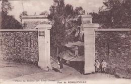 CPA FORT DE ROMAINVILLE - Romainville