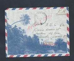 MILITARIA ALGÉRIE LETTRE ILLUSTRÉE EN FRANCHISE MILITAIRE POSTE AUX ARMÉES 58 SOLDAT GARRET JEAN CONDUCTEURS S P 87 223 - Marcophilie (Lettres)
