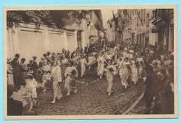 1708 - BELGIE - BOOM - MARIA OMMEGANG - KONINGIN VAN DE ROZENKRANS - COSTUMES - MODE - VINTAGE - Boom