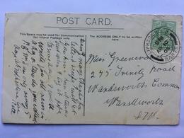 GB Edward VII 1905 Postcard With Liphook RSO Postmark - Lettres & Documents