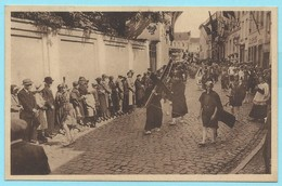 1709 - BELGIE - BOOM - MARIA OMMEGANG - KRUISDRAGENDE CHRISTUS - COSTUMES - MODE - VINTAGE - Boom