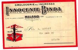 OROLOGERIE INGROSSO INNOCENTE BINDA MILANO OROLOGI DI MARCA - Milano (Milan)