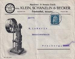 BAYERN 1911  ENVELOPPE ILLUSTREE DE FRANKENTHAL - Bavaria