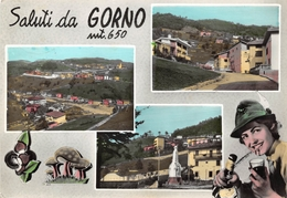 ITALIE - GORNO - Multivues - (CPSM Grand Format) - Bergamo