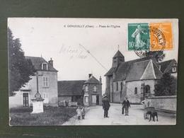 GENOUILLY (Cher)-Place De L'église - Other Municipalities