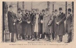 IRAN  --  SHAH  De  PERSE Dans Les Vosges à MARTIGNY  LES  BAINS - Iran