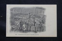 CHINE - Carte Postale - Kou Pa Tsouen - Fondation D'un Port - L 58170 - Chine