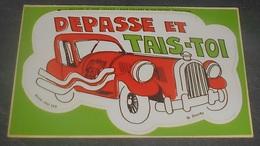 Depasse Et Tais - Toi : Carte Autocollante - Auto- Collant Dorchy ::  Illustrateurs --------- 540 - Ansichtskarten