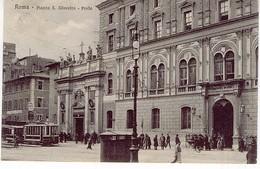 ROMA PIAZZA S SILVESTRO POSTA - Enseignement, Ecoles Et Universités
