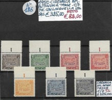 ITALIA **1950 CIRENAICA, AMMINISTRAZIONE AUTONOMA, SEGNATASSE Con LEGGERA TRACCIA Di LINGUELLA - Cirenaica