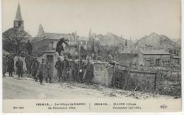 54 ( Meurthe Et Moselle ) - Le Village De MAIXE - 24 Decembre 1914 - Militaria - Guerre 1914-18