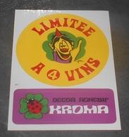 Limitee A 4 Vins  : Carte Autocollante - Auto- Collant ::  Illustrateurs --------- 540 - Ansichtskarten