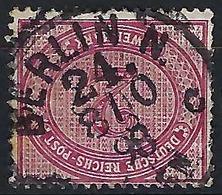 ALLEMAGNE Empire:  Le Y&T 43,  Superbe Obl.  CAD Berlin-N24 Du 8.10.98 ,   B à TB - Oblitérés