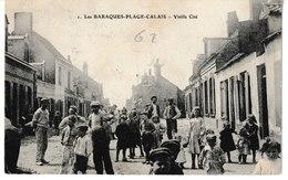 Pas De Calais Les BARAQUES PLAGES Vieille Cité (belle Animation) - France