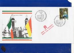 ##(DAN204)-1994-Ravenna,50° Liberazione,annullo Speciale Su Busta Commemorativa-tematica Resistenza - 6. 1946-.. Repubblica