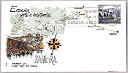 TURISMO - ZAMORA. SPD/FDC Madrid 1965 - Vacaciones & Turismo