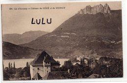 DEPT 74 : édit. Gardet N° 226 : Chateau De Déré Et De Duingt , Lac D'Annecy - Francia