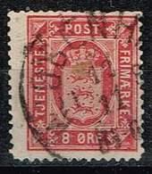 Dänemark 1875,Michel# D 6Y A - Service