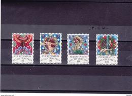 LIECHTENSTEIN 1978 ZODIAQUES III Yvert 654-657 NEUF** MNH - Liechtenstein