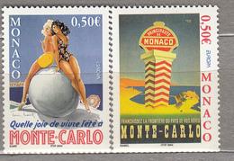 EUROPA CEPT 2004 Monaco Mi 2693 - 2694 MNH (**) #19739 - Monaco