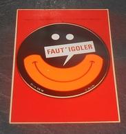 Faut ' Igoler : Carte Autocollante - Auto- Collant Dorchy ::  Illustrateurs --------- 540 - Ansichtskarten