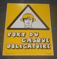 Port Du Casque Obligatoire : Carte Autocollante - Auto- Collant Dorchy ::  Illustrateurs --------- 540 - Ansichtskarten