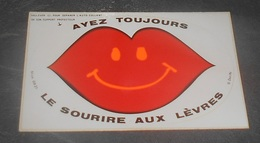 Ayez Toujours Le Sourire Aux Lèvres : Carte Autocollante - Auto- Collant Dorchy ::  Illustrateurs --------- 540 - Ansichtskarten