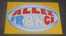 Allez France  : Carte Autocollante - Auto - Collant Dorchy ::  Illustrateurs --------- 540 - Ansichtskarten