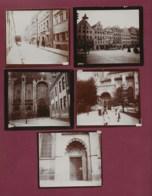 150420H - 5 PHOTOS 1900 - ALLEMAGNE BAVIERE AUGSBOURG Ramoneur Fontaine Cathédrale - Ancianas (antes De 1900)